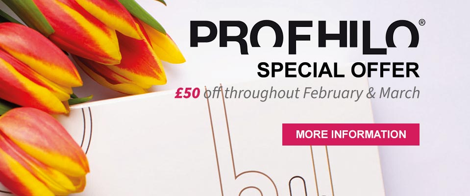 Profhilo special offer. Celebrate 2020 with £50 off throughout February & March.