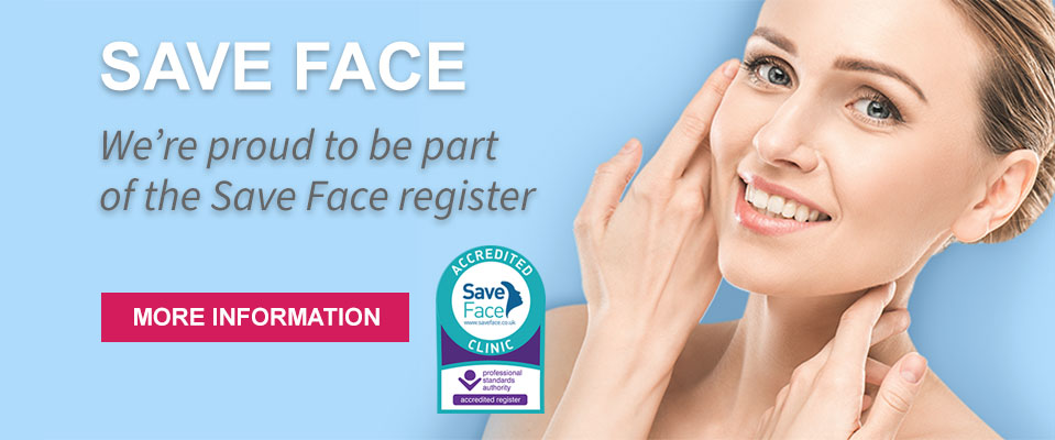 We're proud to be part of the Save Face register
