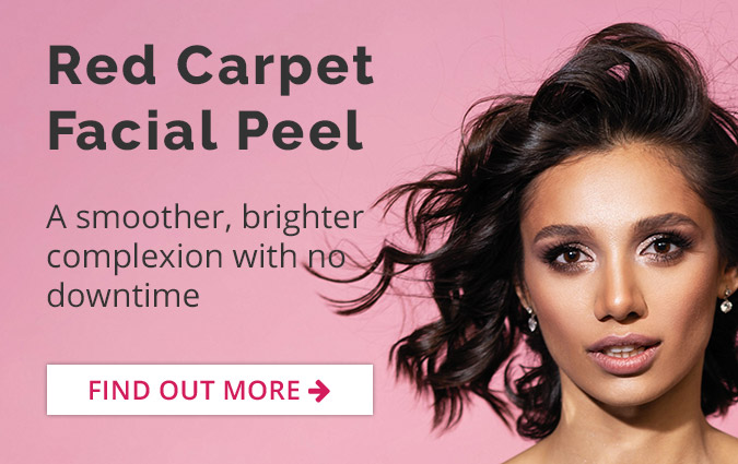 Red Carpet Facial Peel - A smoother, brighter complexion with no downtime.